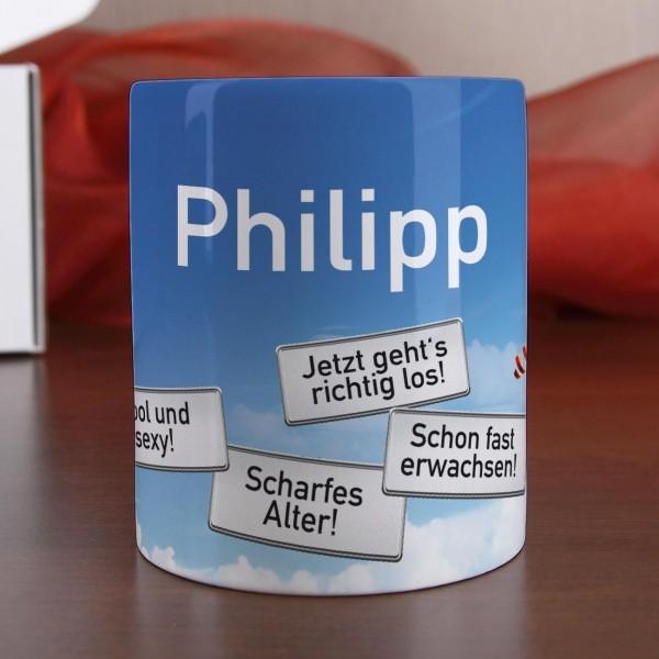 Tasse personalisiert mit Namen