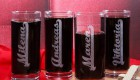 Weinflasche MADE WITH SWAROVSKI®ELEMENTS zum Geburtstag